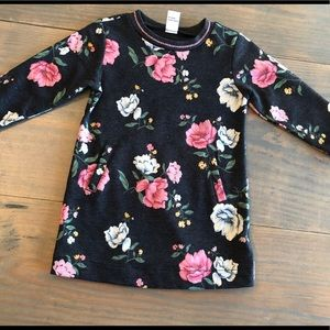 Old Navy floral tunic dress 12-18 months